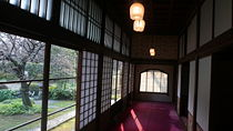 Inside Takahashi Korekiyo residence, one of the many buildings in the museum. Wikimedia Commons