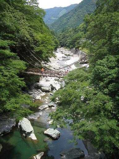 Iya Valley and suspension bridge (Wiki Media source)