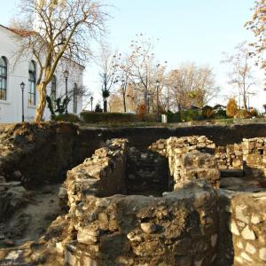 Ancient temple unearthed in Sozopol bulgaria Photo: Focus news agency