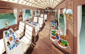 Illustration by Eiji Mitooka + Don Design Associates Photo credits: Kyushu Rail Company