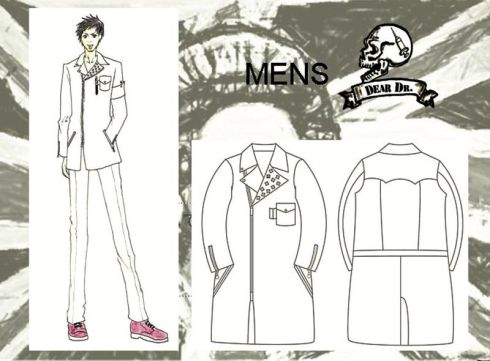 The Yomiuri Shimbun White coats designed by students at Bunka Fashion College